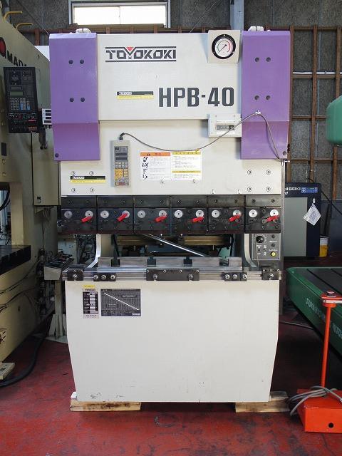 TOYOKOKI   東洋工機 HPB-4012AT