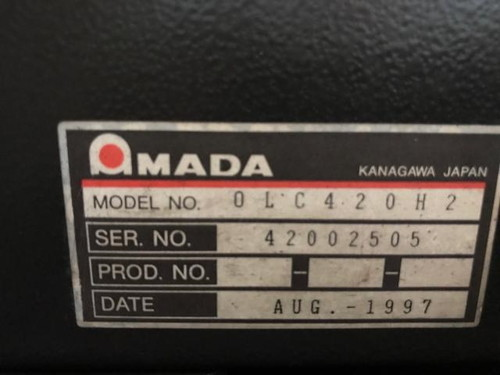 AMADA   アマダ OLC420H2