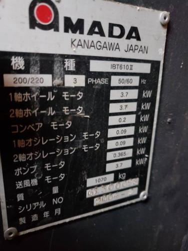 AMADA   アマダ IBT-610Ⅱ