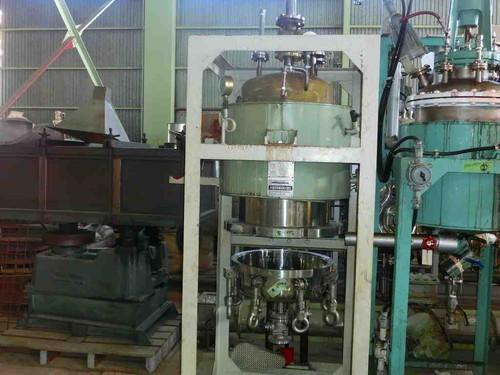 蒸留釜 大阪化学機械 円筒竪型