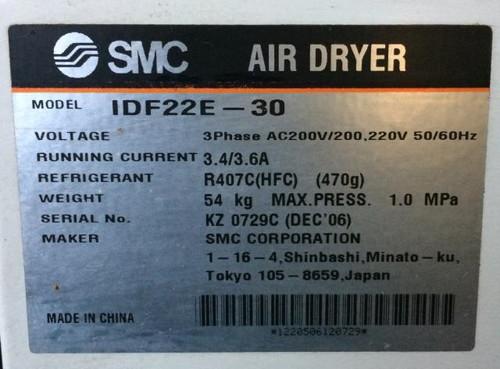 SMC IDF22E-30