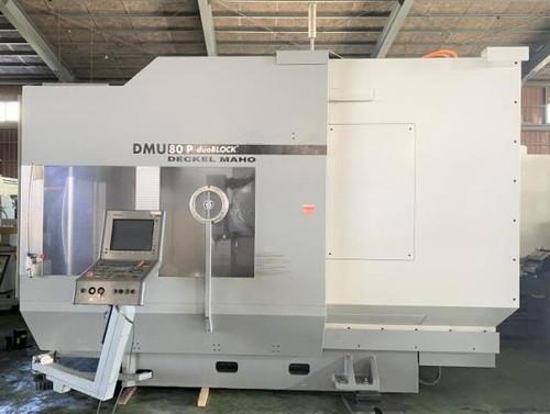 DECKEL MAHO(GER) DMU-80P duoBLOCK