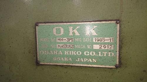 OKK   大阪機工 MH-3PⅡ