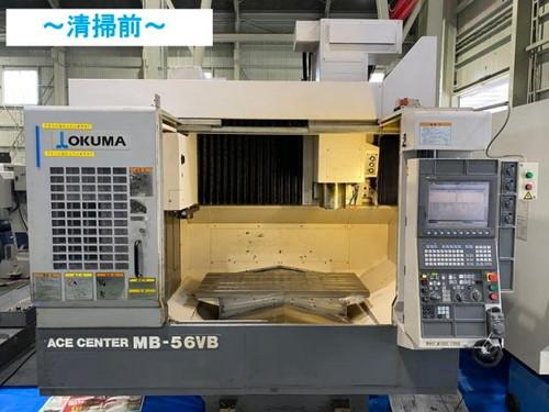 立マシニング(BT50) OKUMA   オークマ MB-56VB