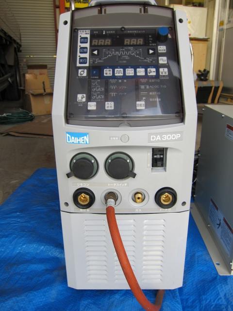 DAIHEN   ダイヘン Almega AⅡ-V6L用 後付け交直両用パルスTIG溶接機一式DA300P