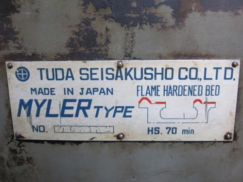 6尺旋盤 TUDA   津田製作所 MYLER-500*860S