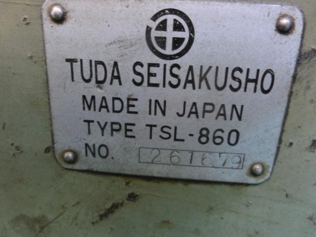 6尺旋盤 TUDA   津田製作所 TSL-860
