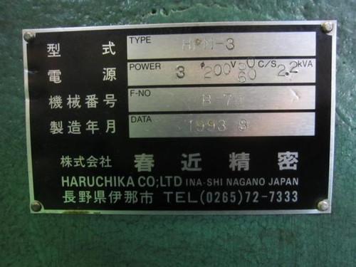 R旋盤 春近精密 HPM-3