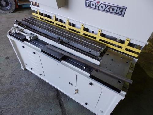 1.2m油圧シャーリング TOYOKOKI   東洋工機 HSS-1245