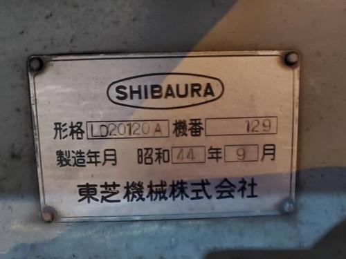 普通旋盤 TOSHIBA   東芝機械 LD-20120A