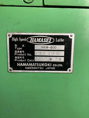 6尺旋盤 浜松工機 HKM-800
