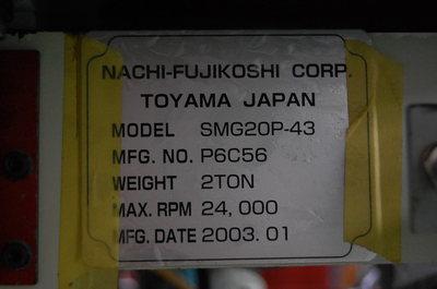 NCスライシングマシン Nachi   不二越 SMG20P-43