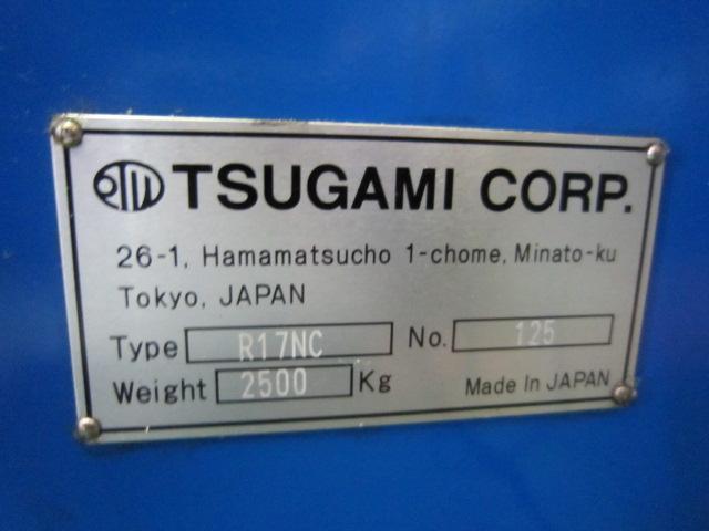 NC転造盤 TSUGAMI   ツガミ R17NC