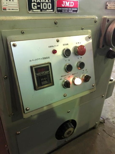 ホブ刃溝研削盤 HAMAI   浜井産業 G-100