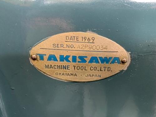 7尺旋盤 TAKISAWA   滝澤鉄工所 TAL-510
