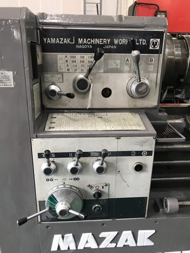 6尺旋盤 Mazak   山崎鉄工