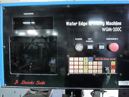 ウェハー面取機 ダイイチ精機 WGM-200C