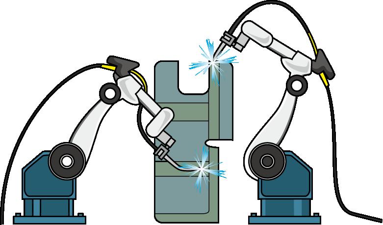 接合加工・溶接ロボット